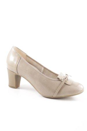 vitaform Loafers natural white elegant