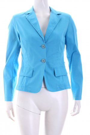 Vittoria Davoli Short Blazer light blue casual look