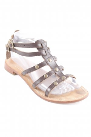 Viva! Roman Sandals dark brown-light brown casual look