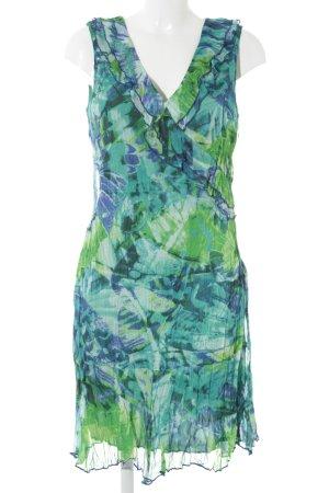 Vivance A-Linien Kleid abstrakter Druck Beach-Look