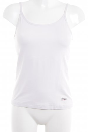 Vivance Basic Top white casual look