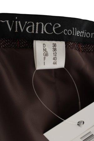 Vivance Tailleur pantalone marrone puntinato stile professionale