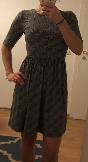 Vive Maria, A-Linien Jerseykleid, M, schwarz-weiß kariert