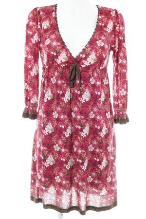 Vive Maria Jerseykleid Blumenmuster Casual-Look