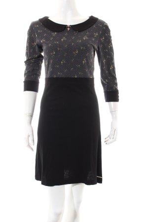 Vive Maria Jerseykleid weiß-schwarz Punktemuster Street-Fashion-Look