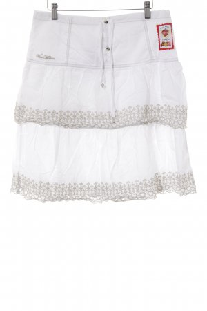 Vive Maria Broomstick Skirt white-beige casual look