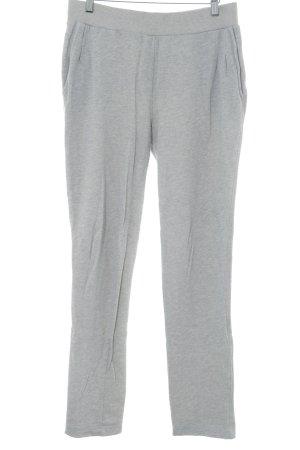 Vive Maria Pantalon de jogging gris clair moucheté style décontracté