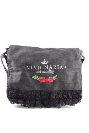 Vive Maria Umhängetasche schwarz Casual-Look
