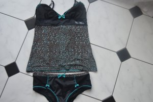 Vive Maria Lingerie Set black-light blue synthetic fibre