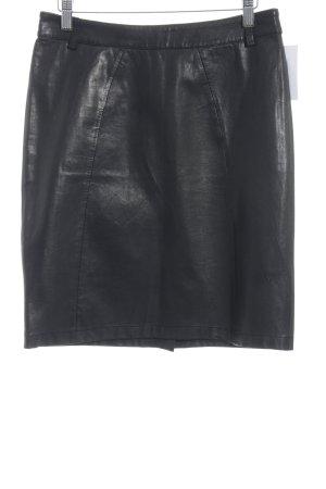 VIVENTY Bernd Berger Leather Skirt black street-fashion look