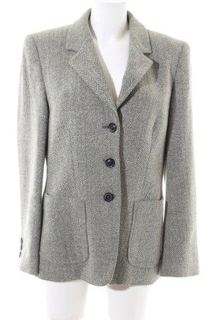 VIVENTY Bernd Berger Blazer in lana grigio chiaro puntinato stile professionale