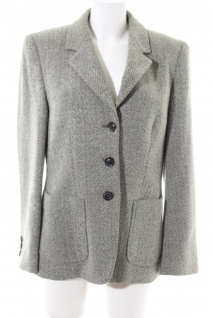 VIVENTY Bernd Berger Wool Blazer light grey flecked business style
