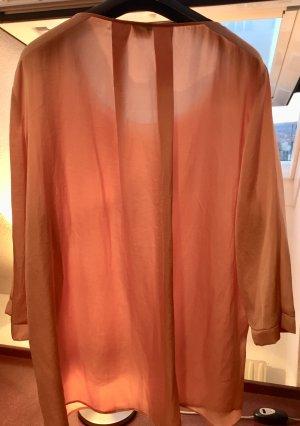 Viventy-lachsfarben schimmernde elegante Bluse