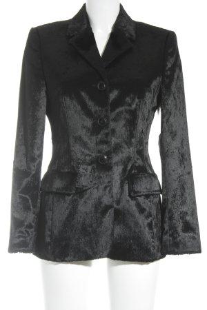 Viventy Long-Blazer schwarz extravaganter Stil