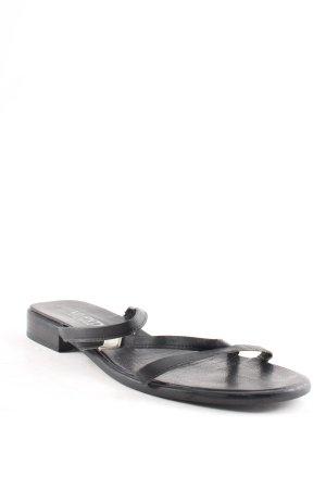Viventy Riemchen-Sandalen schwarz klassischer Stil