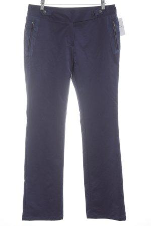 Viventy Pantalone elasticizzato viola scuro stile casual