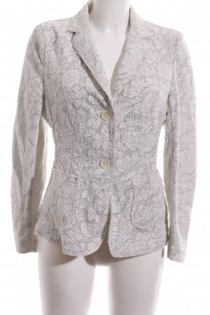 Viventy Knitted Blazer natural white business style