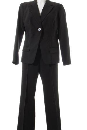 Vivien Caron Anzughose schwarz Business-Look