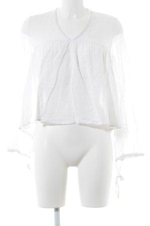 VIVIENNE Blusa de manga larga blanco look Boho