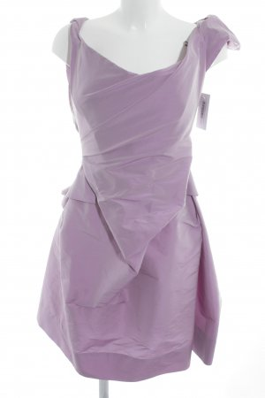 Vivienne Westwood Abendkleid helllila extravaganter Stil