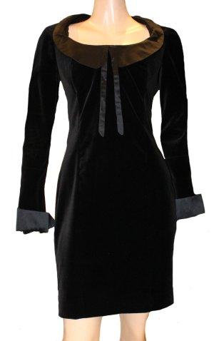 VIVIENNE WESTWOOD Abendkleid schwarz Samt Gr. 36