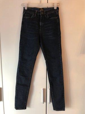 Vivienne Westwood Hoge taille jeans donkerblauw-blauw