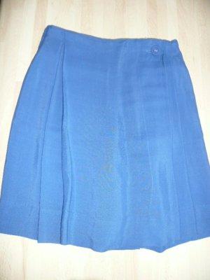 Vivienne Westwood Jupe portefeuille bleu fluo viscose