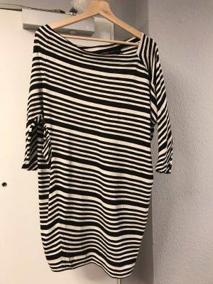 Vivienne Westwood Abito di maglia nero-crema