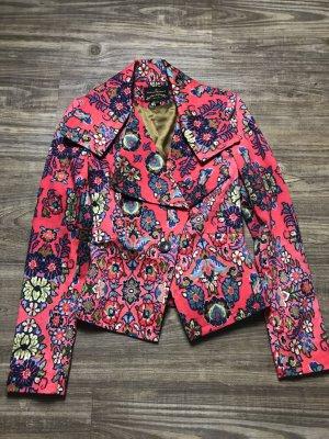 Vivienne Westwood Blazer rojo neón-azul acero