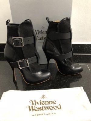Vivienne Westwood Booties Stiefelette schwarz Gr. 37,5