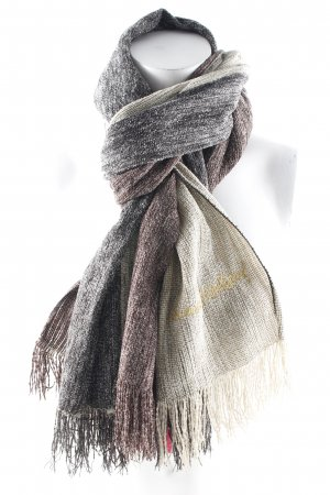 Vivienne Westwood Fringed Scarf striped pattern casual look