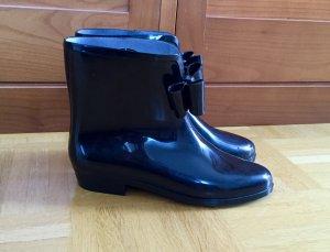 Vivienne Westwood Botas de agua negro