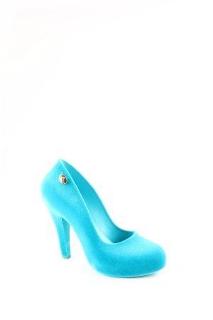 Vivienne Westwood High Heels türkis extravaganter Stil