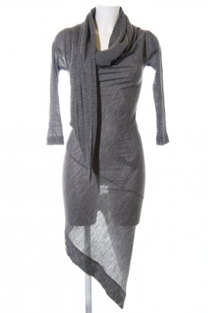 Vivienne Westwood Jerseykleid hellgrau meliert Casual-Look