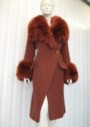 Vivienne Westwood Abrigo de invierno bermejo Lana