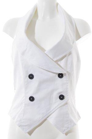 Vivienne Westwood Neckholdertop weiß Elegant