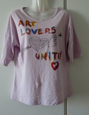 VIVIENNE WESTWOOD Red Label Art Lovers Longsleeve Shirt oversized Gr. S/M