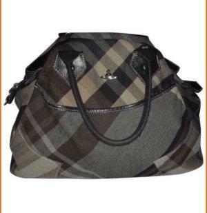 Vivienne Westwood Tasche Wolle/Leder Tote Tasche