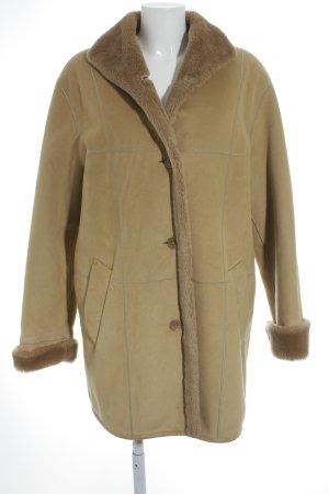 VIYELLA Abrigo de invierno marrón arena-marrón claro look Street-Style