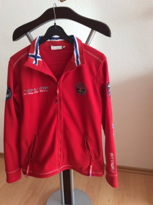 Fleece Jackets brick red
