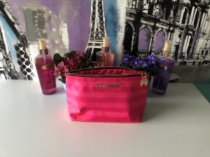 Pink Victoria's Secret Neceser de belleza multicolor