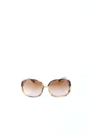 Vogue eckige Sonnenbrille braun-schwarz klassischer Stil