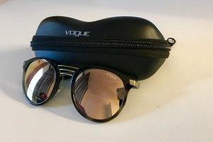 Vogue Gafas de sol redondas marrón