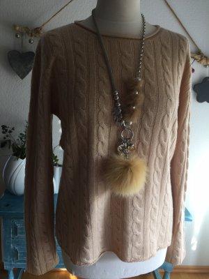 Vogue Pullover beige mit Kaschmir Größe L