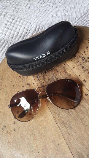 Vogue Gafas de sol ovaladas marrón-beige