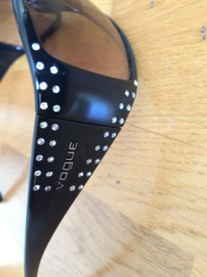 Vogue Glasses black synthetic material