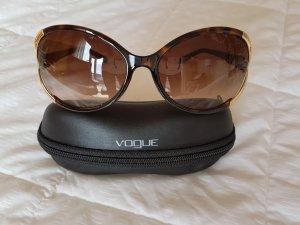 Vogue Bril goud-bruin