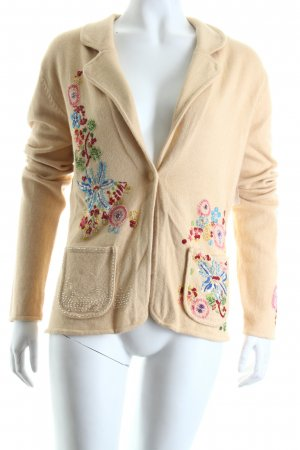 Vogue Strickjacke florales Muster Casual-Look