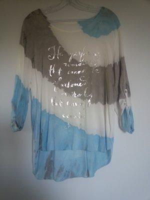 Oversized blouse veelkleurig
