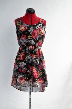 Vokuhila, floral, Sommer, Kleid, Only
